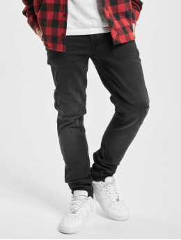 Redefined Rebel Skinny Jeans Stockholm black