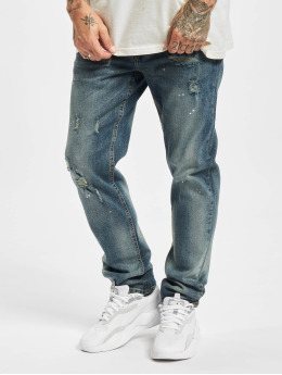 Redefined Rebel Straight Fit Jeans Chicago blau