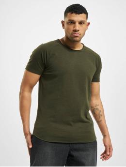 Redefined Rebel t-shirt Kas  groen