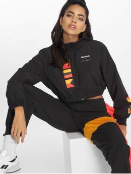 Reebok Демисезонная куртка Gigi Hadid черный