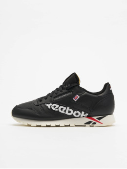 Reebok Сникеры Classic Leather MU черный
