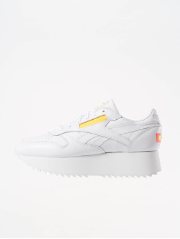 Reebok Baskets Classic Leather Double blanc