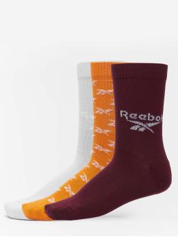 Reebok Calzino Classics 3 Pack FO Crew arancio