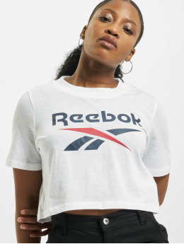Reebok Camiseta Identity Crop  blanco
