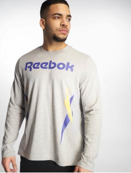 Reebok Camiseta de manga larga Classic V gris