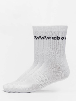Reebok Chaussettes Act Core Mid Crew 3er-Pack blanc