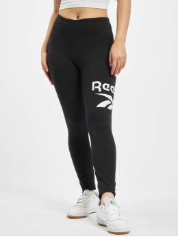 Reebok Leggings/Treggings Identity Big Logo Cotton black