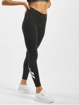 Reebok Leggings/Treggings CL V Logo Vector czarny