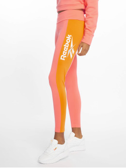 Reebok Leggingsit/Treggingsit Cl V P vaaleanpunainen