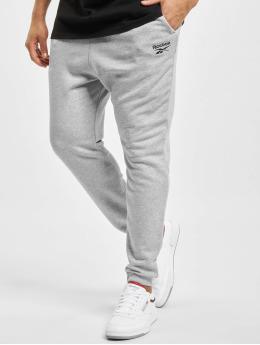 Reebok Pantalón deportivo Identity French Terry gris