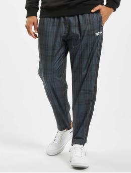 Reebok Pantalón deportivo Vector Plaid negro