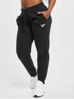 Reebok Pantalón deportivo Identity French Terry negro