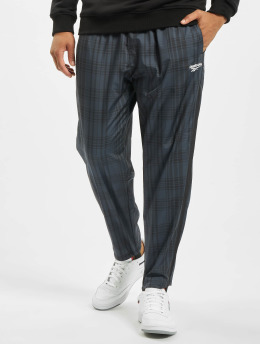 Reebok Pantalone ginnico Vector Plaid nero