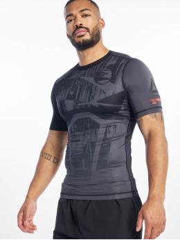 Reebok Performance Camisas de compresión Ost Ss Comp gris