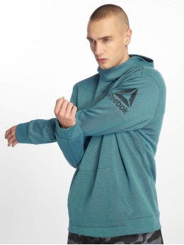 Reebok Performance Hoody Wor Mel Dbl Kn Oth turquois