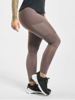 Reebok Performance Legging D Mesh grau