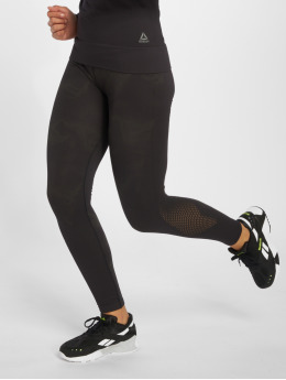 Reebok Performance Legging Os Thermo Seamless schwarz
