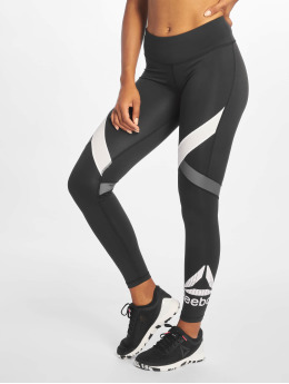 Reebok Performance Leggings/Treggings Wor Big Delta svart