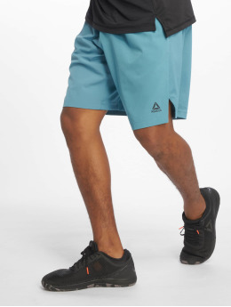Reebok Performance Pantalón corto desportes Ost Knit Woven turquesa