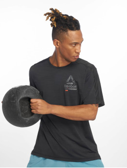 Reebok Performance Shirts desportes Ost Activchill Grap negro