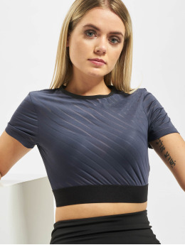 Reebok Performance Sport Shirts S Mesh Crop blauw