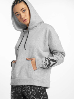 Reebok Performance Sports Hoodies Wor Delta gray