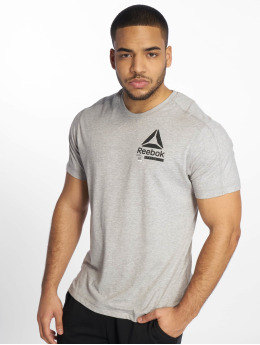 Reebok Performance t-shirt Ost Speedwick Move grijs
