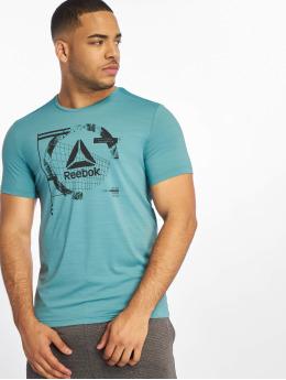 Reebok Performance T-shirt Wor Activchill Grap turchese