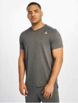 Reebok Performance T-shirts Wor Melange Tech To grå