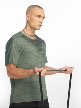 Reebok Performance T-Shirty Ac Graphic zielony