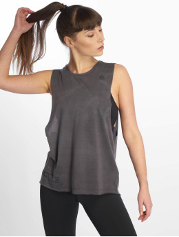 Reebok Performance Tank Tops Cbt Spraydye gris