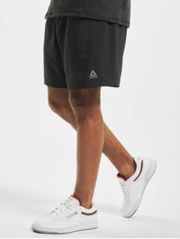 Reebok Performance Urheilushortsit Workout Woven  musta