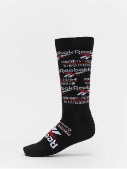 Reebok Ponožky Printemp ETE Crew èierna