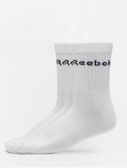 Reebok Ponožky Act Core Mid Crew 3er-Pack biela