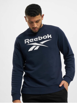 Reebok Pullover Identity French Terry Big Logo blue