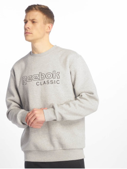 Reebok Pullover Classic Fleece Crew grau