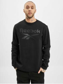Reebok Pullover Identity Fleece schwarz