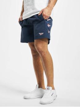 Reebok Shorts Classic D Vector Repeat blau