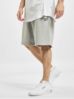Reebok Shorts Identity French Terry grau