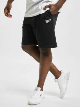 Reebok Shorts Identity French Terry schwarz