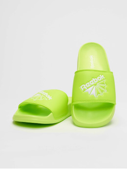 Reebok Slipper/Sandaal Classic groen