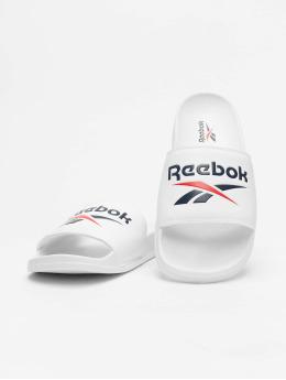 Reebok Slipper/Sandaal Classic Slides wit