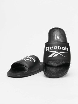 Reebok Slipper/Sandaal  zwart