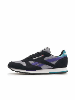 Reebok Sneaker Leather Mu schwarz
