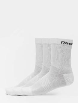 Reebok Sokker TE 3 Pack Mid hvit
