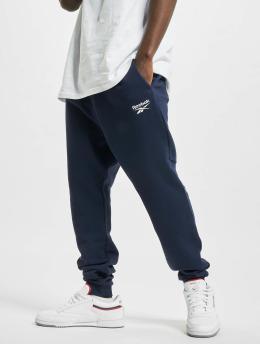Reebok Spodnie do joggingu Identity French Terry  niebieski