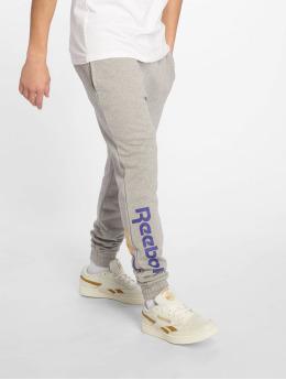 Reebok Spodnie do joggingu Vector  szary
