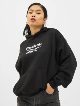 Reebok Sweat capuche CL F Big Logo FT noir