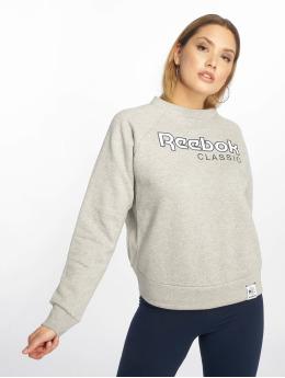 Reebok Swetry AC Iconic Fleece szary