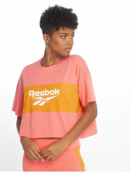 Reebok T-paidat Cl V P Cropeed vaaleanpunainen